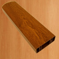 PVC foliovaná plotovka, 3031, růžová bříza