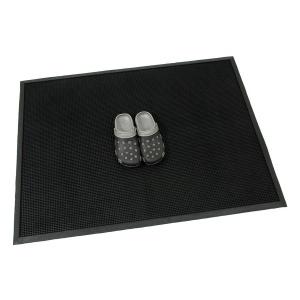Gumová vstupní kartáčová rohož Rubber Brush - 120 x 90 x 1,2 cm