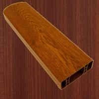 PVC foliovaná plotovka, 2002, macoré