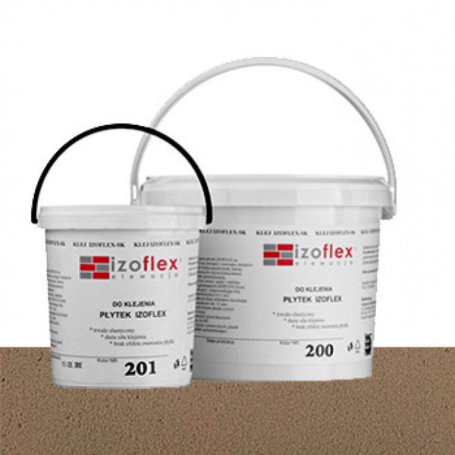 Lepící tmel Izoflex 205, béžový