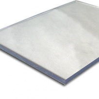 Plný polykarbonát Makrolon 2UV, 8 mm čirý 1,02x1,52m