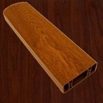 PVC foliovaná plotovka, 2001, černá třešeň