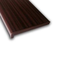 Vnitřní parapet PVC, Renolit - Mahagon, 200mm