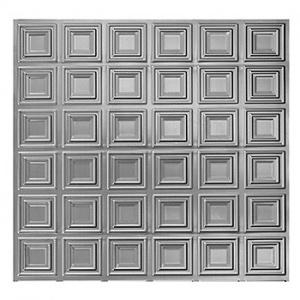 Plech pozinkovaný - lisovaný vzor čtverce 3D, I PZNZ2/12