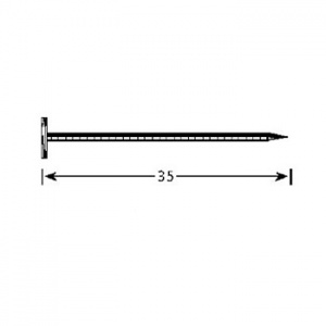 Fasádní hřeb 1,9x35, VinyTec, V5150