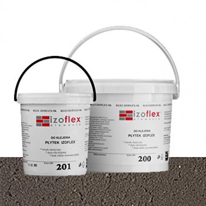 Lepící tmel Izoflex 201, šedý