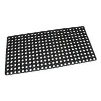 Gumová vstupní čistící rohož na hrubé nečistoty Honeycomb - 100 x 50 x 2,2 cm