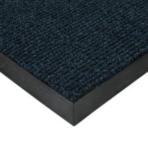 Modrá textilní zátěžová čistící rohož Catrine