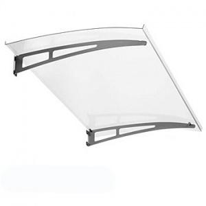 Nerezová stříška Polymer Easy -Top 1400x900mm, čirá