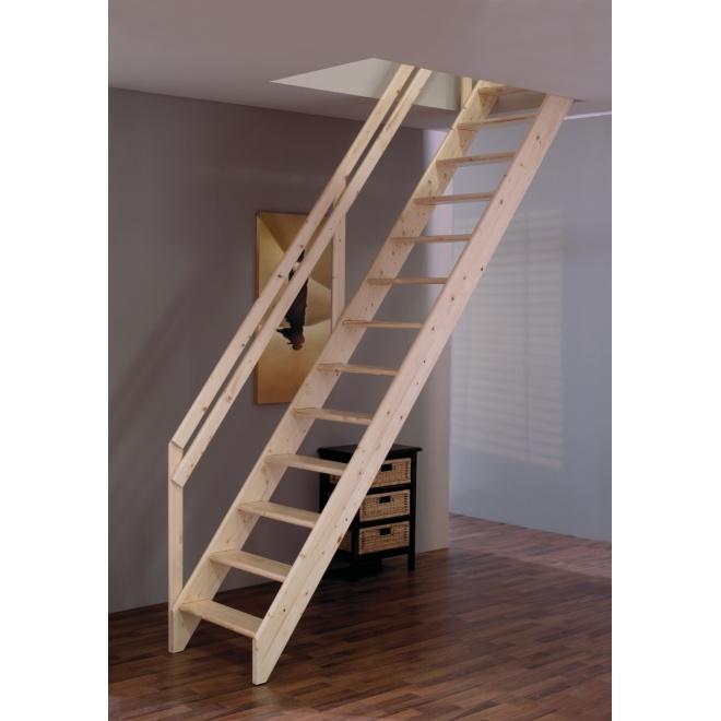 Schodnicové schodiště Minka Boras, 600x2800mm