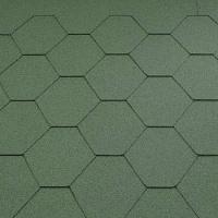 Asfaltový šindel Katepal KL, zelený