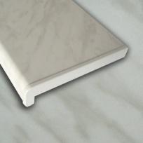 Plastový parapet RS, PVC folie - Šedý mramor
