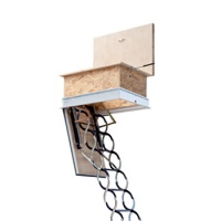 Protipožární schody JAP Kombo, pro pasivní domy