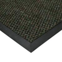 Zelená textilní zátěžová vstupní čistící rohož Fiona
