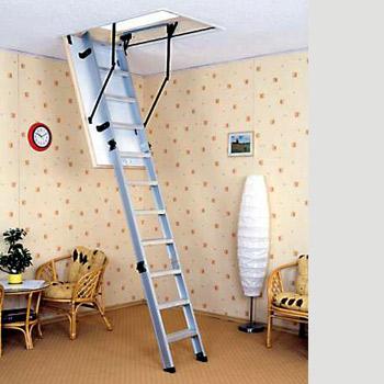žebříkové schodiště