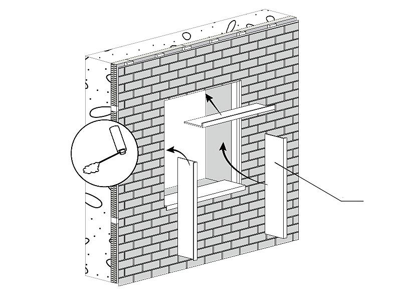 fasádní obklady Solid - ostění
